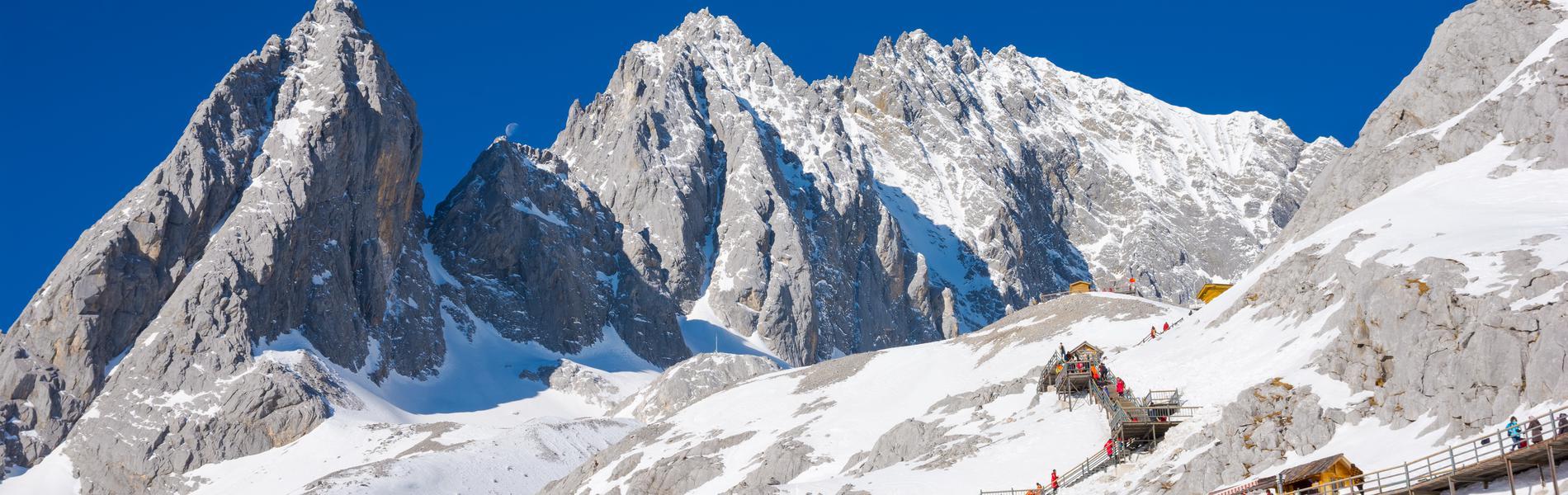 ลี่เจียง พิชิตภูเขาหิมะมังกรหยก 4 วัน 3 คืน