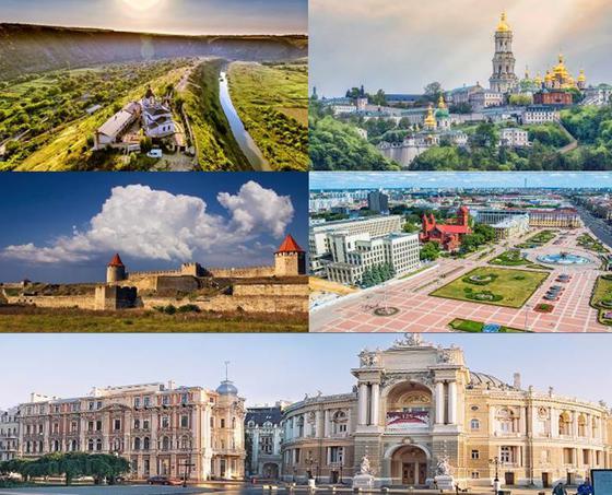 10 วัน อันซีน ยูเครน มอลโดวา เบลารุส