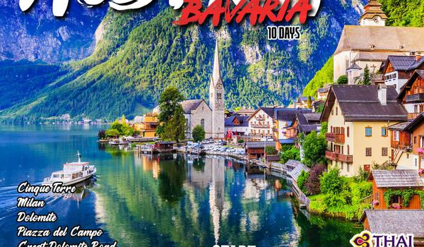 THE BEST OF AUSTRIA  BAVARIA 10 DAY(TG)